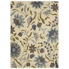 Mohawkhome Mohawk Home Clarita Blue 7 Ft 6 In X 10 Ft Area Rug 003980