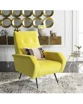 Retro Accent Chair 59 Safavieh Mid Century Modern Aida Velvet Grey