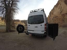 Van Rear Door Awning Aluminess Review Sprinter Van Roof Rack U0026 Storage Accessories