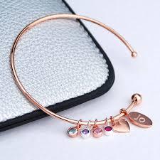 family bracelets jewellery bracelets personalised family birthstone bracelet