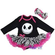 baby nightmare before pink damask bodysuit