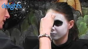 skeleton face paint kids halloween skeleton face paint tutorial