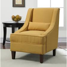 chair awesome modern linen accent chair for your living inside