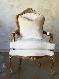 Antique Accent Chair Traditional Gold Gilt Antique Accent Chairs