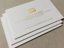 Extra Thick Business Cards Letterpress Business Cards David Ward Printing