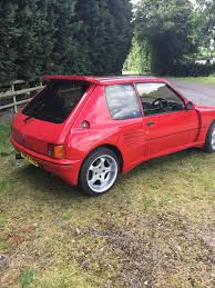 peugeot gti 1980 1989 peugeot 205 gti for sale classic cars for sale uk