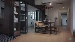 interior design singapore a scandirustic home by visionary