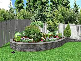 Landscape Curb Appeal - landscaping ideas for a front yard berm curb appeal garden trends