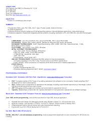 Sample Mainframe Resume by Sample Java Resume Resume In Java Sample Cv For Advertising Jobs