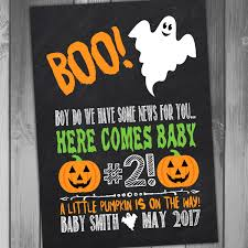 pregnancy announcement halloween pregnancy announcement baby