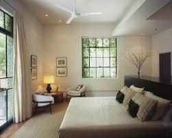 timeless zen style bedroom with nice modern fan we need fans in