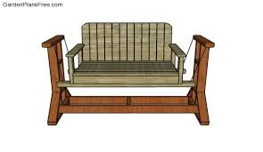 7 porch bench plans free porch swing plans how to build a