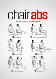 Office Workouts At Desk Office Workout Chair Intended For Best 25 Workouts Ideas On