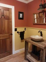 Small Rustic Bathroom Ideas Touch Of Country To Bathroom Remodel Blog Barnlightelectriccom