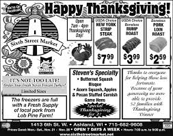 thanksgiving grocery store hours sixth street market happy thanksgiving food dining ads from