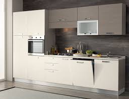 forni e piani cottura da incasso cucina completa 330 cm completa di lavastoviglie colonna forno e