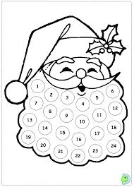 santa claus coloring dinokids org