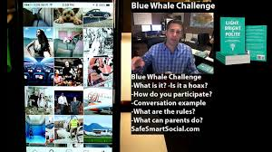 Challenge Hoax Blue Whale Challenge A Hoax Dailymotion