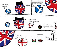 Scottish Memes - scotland cannot into economic security polandball
