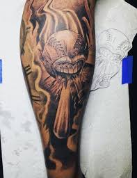 collection of 25 sports on forearm