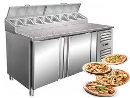 cuisine des pros table à pizza réfrigérée cuisine des pros