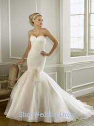 Wedding Dresses Online Shop Sweetehart Mermaid Ruched Elegant Bridal Dresses Online Shop On