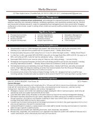 Resume Examples It Manager Resume Sample General Manager Templates