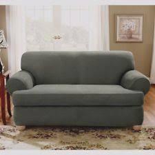 Green Sofa Slipcover by Sofa Slipcover T Cushion Ebay