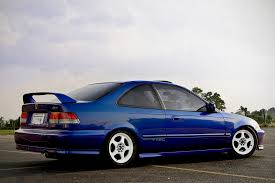 honda civic si 99 electron blue pearl honda civic si zachary flickr
