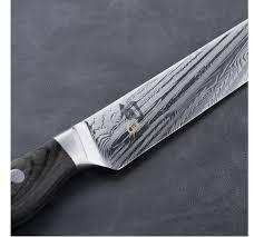shun kitchen knives kai shun nagare 230mm kitchen knife vg10 vg2 handcraft ebay