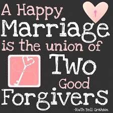 marital advice quotes a happy marriage is the union of two forgivers pin it if you