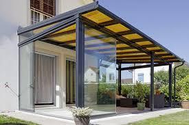 tettoie per terrazze coperture per terrazze e vetrate con protezione solare