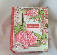 handmade photo album memories scrapbook photo mini album handmade by terry