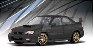 sti subaru 2004 2004 subaru wrx sti in matte black by crwpitman on deviantart