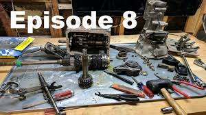 datsun 240z build episode 8 borg warner t5 transmission