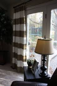 Curtain Inspiration Diy Black U0026 White Striped Curtains Diy Curtains White Curtains
