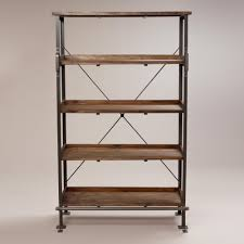 Library Bookcase With Ladder by Emerson Shelving World Market