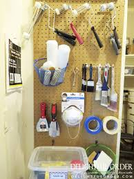 delightful order organizing the garage paint u0026 paint supplies