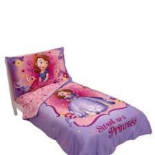 disney sofia 4 piece bedding toddler target