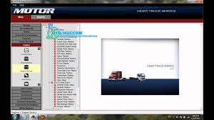 motor heavy truck service 2011 full youtube