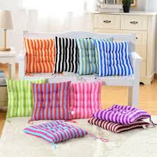8 Cushion Compare Prices On Striped Chair Cushions Online Shopping Buy Low