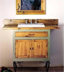 country vanity bathroomcountry style bathroom with reclaimed wood