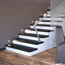 How To Install Stair Lights by Install Stair Lighting Stair Lighting For Outdoor U2013 Lighting
