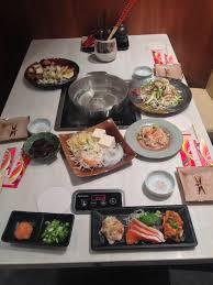 traditional japanese dinner table kobe bussan to bring authentic japanese shabu shabu to new york