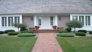 Front Curb Appeal - fall entryway decorating ideas front yard curb appeal ideas