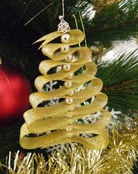 ribbon tree ornaments craft n home