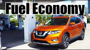 nissan rogue mpg 2017 2018 nissan rogue fuel economy review fill up costs youtube