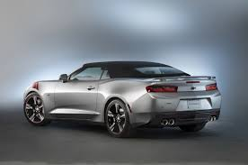 silver ss camaro 2016 chevrolet camaro ss accent package concept sema 2015