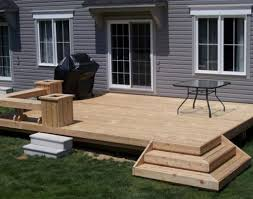 flat deck designs before pics of flat deck with wrap around steps1