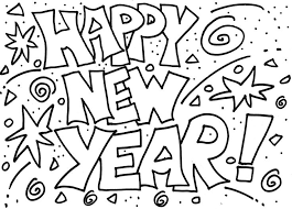 happy new year preschool coloring pages happy new year coloring pages coloring pages